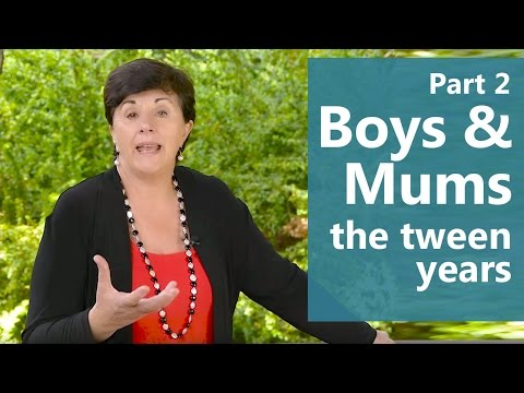 Boys & Mums: the tween years (Part 2 of 2) Maggie Dent