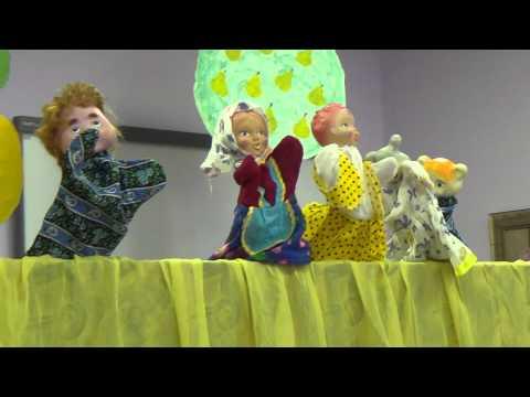 Кукольный театр по сказке Репка 16 сентября Глушко 6