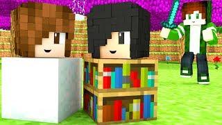 Minecraft - ESCONDENDO DO PAPIS (Hide and Seek)