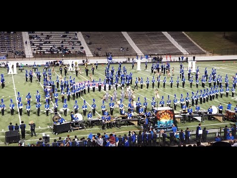 North Mesquite High School Big Blue Band 9-29-2017