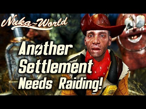 Fallout 4 Nuka-World DLC - Garvey won't shut up about Settlements even if you're a Raider