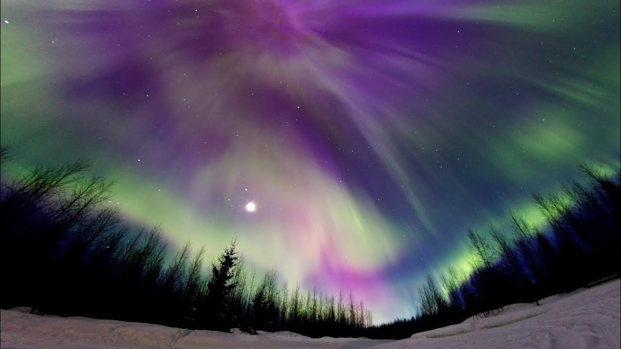 Aurora Borealis, Northern Lights, 17th of March 2013, Full HD ...