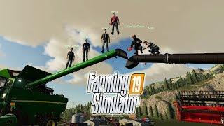 🚜ФЕРМА на МИЛЛИОН КООП на ФЕЛЬСБРУННе  Farming Simulator 19
