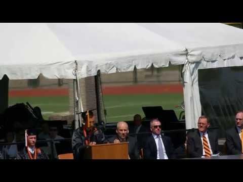 Trevor Barnette 2014 Woburn High School Graduation Speech - Part1