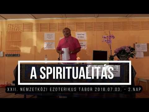 Villás Béla-Spiritualitás (add meg Istennek). XXII. Nemzetközi Tábor, 2018.07.03. - 2.nap letöltés