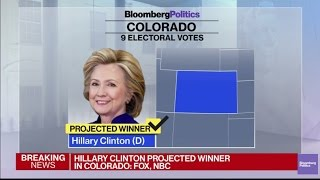 Hillary Clinton Projected to Win Key Swing State of Colorado