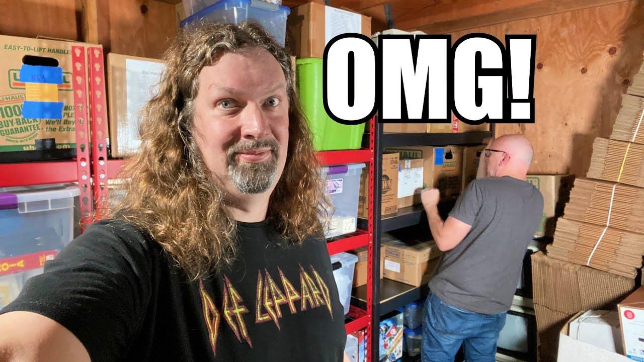Insane Game finds in Storage Unit (Nintendo, NEOGEO, Sega, PC)