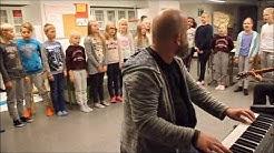 Raision Ihalan koulun nelosluokkalaisten tulevaisuuden äänimaailma (23.10.2017)
