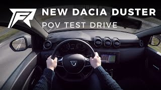 2018 Dacia Duster TCe 125 - POV Test Drive (no talking, pure driving)