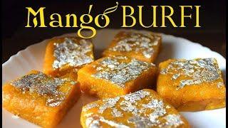 Mango Burfi Recipe | How to make mango burfi at home |आम नारियल की बर्फी | Mango Barfi | Amba Barfi