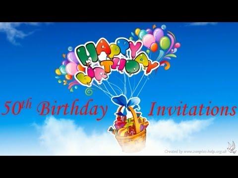 50th-birthday-invitation-wording