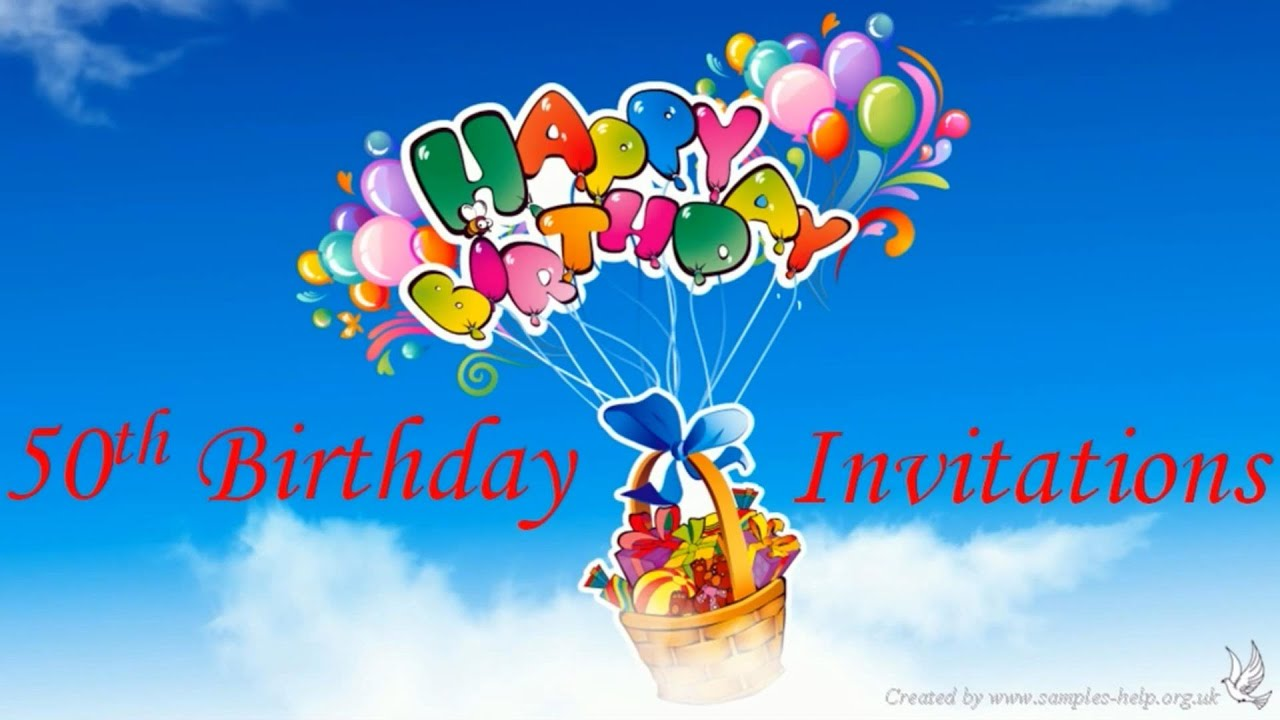 50Th Invites was beautiful invitation ideas