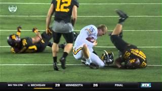 Michigan at Minnesota - Football Highlights