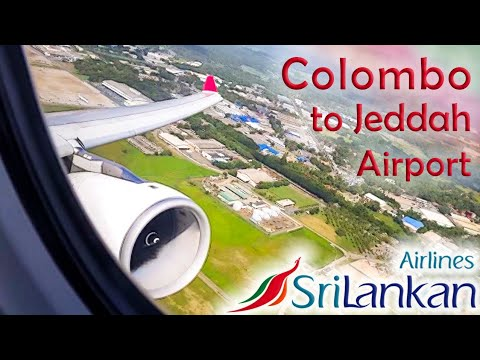 Sri Lankan Airlines A330-300 Takeoff from Colombo & landing at Jeddah [HD]