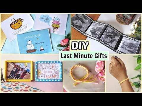 DIY Last Minute Gift Ideas for Everyone | Easy  Friendship Day Gift Ideas