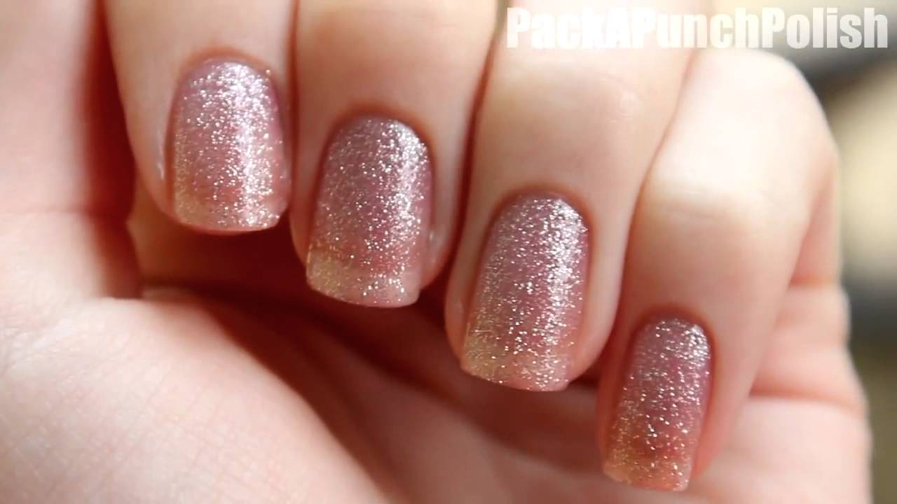 Color Changing Nail Polish by Del Sol - YouTube