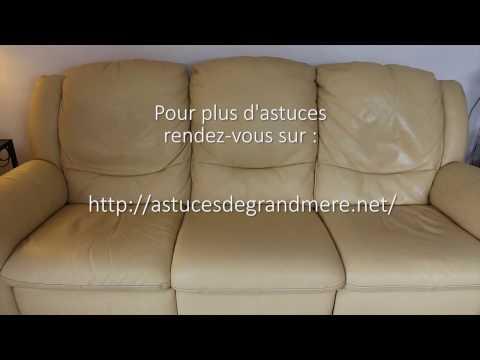 nettoyer canap en cuir comment nettoyer un canap en. Black Bedroom Furniture Sets. Home Design Ideas