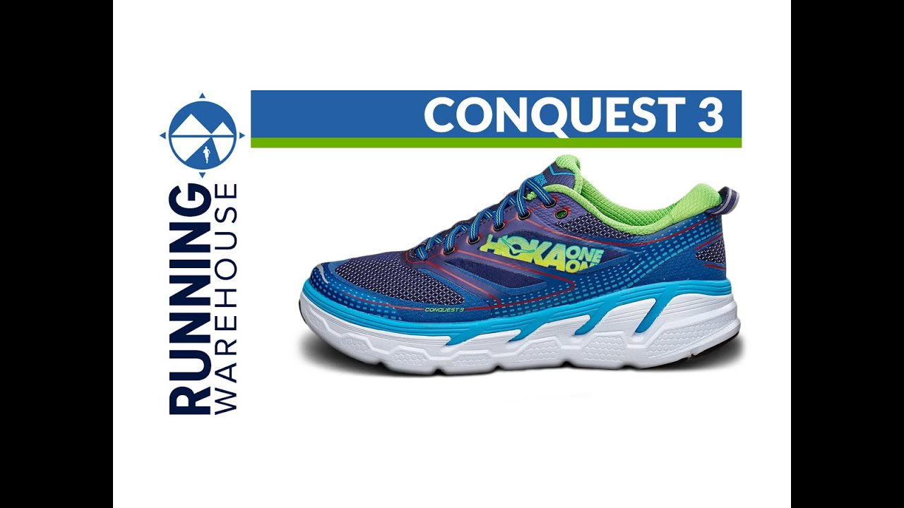 Hoka ONE ONE Conquest 3 for Men Running Warehouse