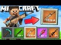 If Minecraft Had Guns Like Fortnite