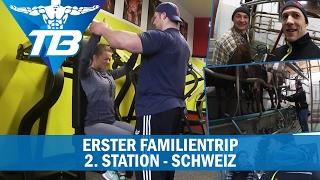 Schultertraining mit Pia im Fitnesshuus / Kühe melken / Familientrip- Schweiz [#2/2]