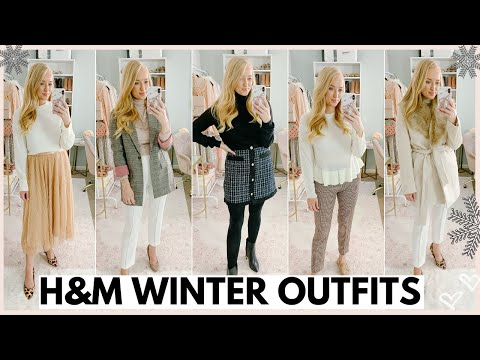 WINTER OUTFITS FROM H&M | CLOTHING TRY ON HAUL 2019 | Amanda John