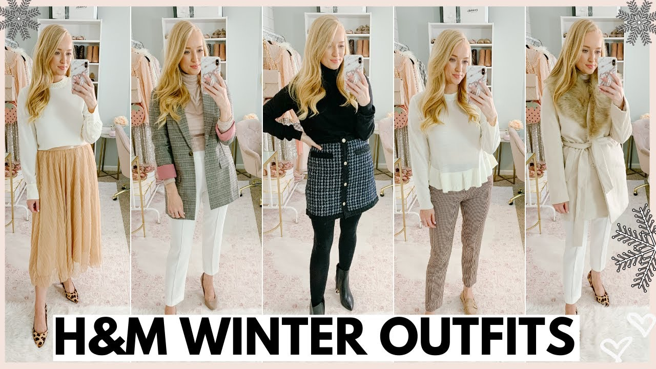 [VIDEO] - WINTER OUTFITS FROM H&M | CLOTHING TRY ON HAUL 2019 | Amanda John 7