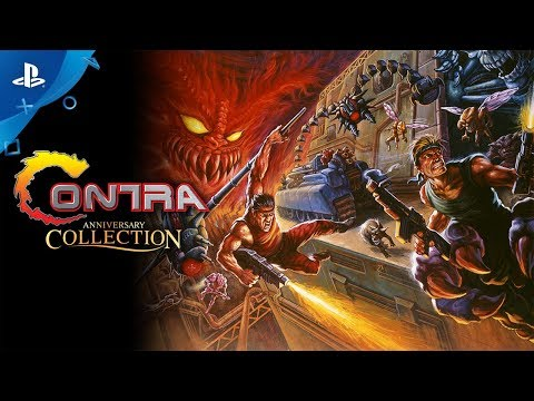 Contra Anniversary Collection - Launch Trailer   PS4