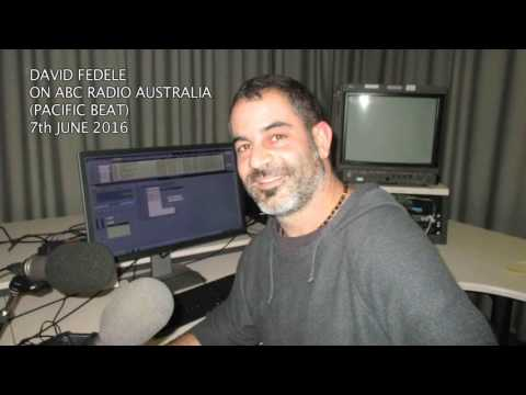 David Fedele | Refugees in PNG - ABC Radio Australia interview (Pacific Beat). 07/6/16