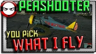 War Thunder - P-26 Peashooter - You pick what I fly!
