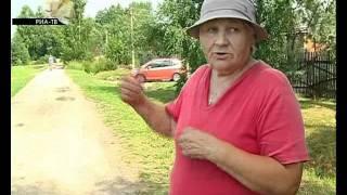 Жители деревни в Пошехонском районе боятся собак.flv