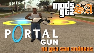 GTA SA - CLEO - Mod Portal Gun