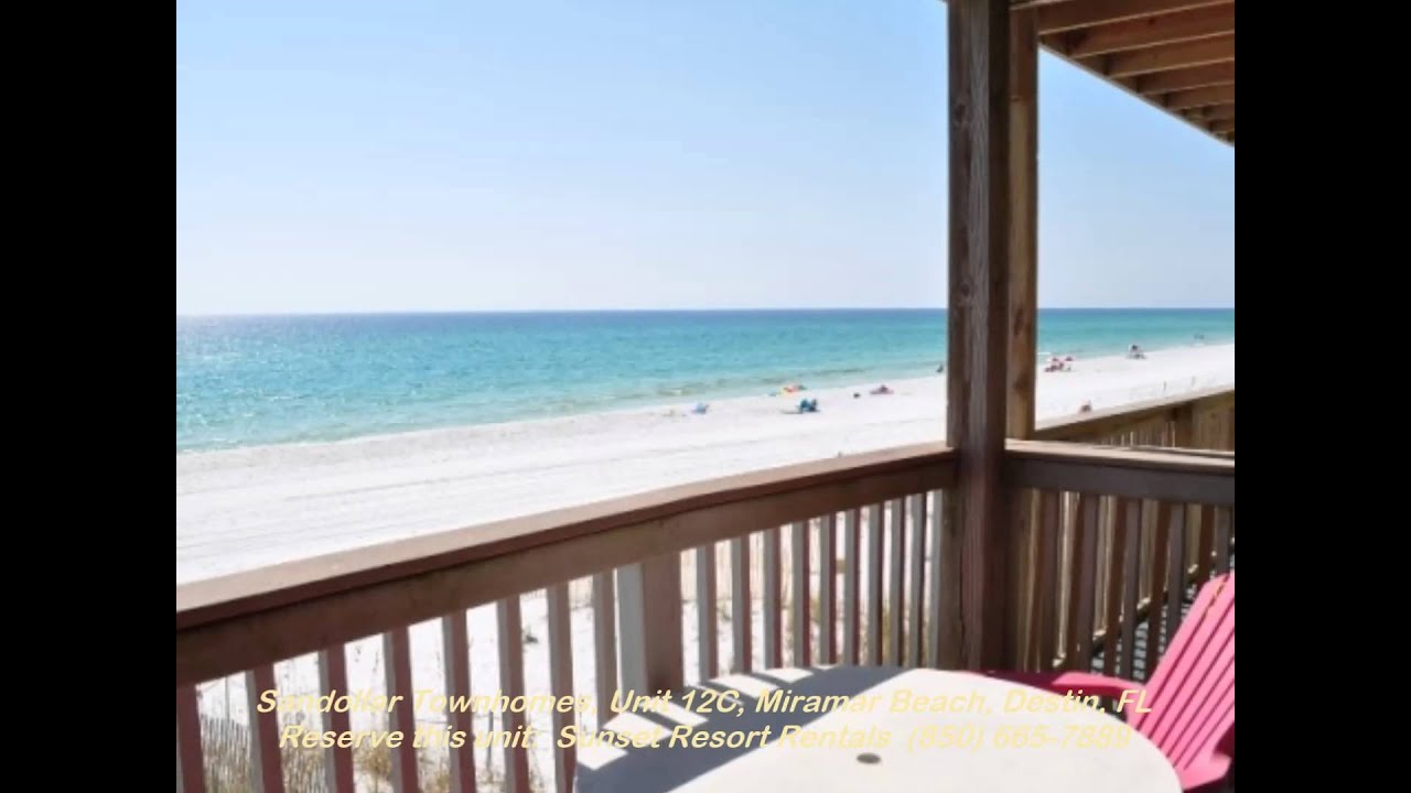 Sandollar Townhomes Unit 12a Vacation Als Miramar Beach 1 Br Ba Sleeps 2 4