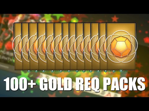 Halo 5 - 100+ Gold Pack opening ($300+ worth) w/ GaLm