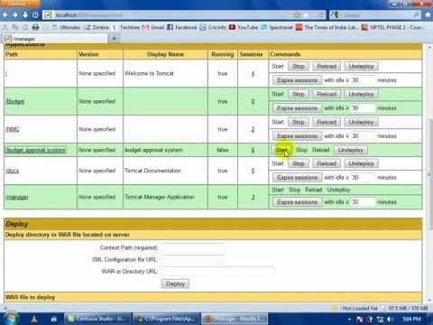 Deploying Java Web Application on Tomcat Server