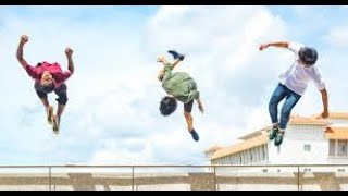 How is Parkour Related to Flying Disc Freestyle?