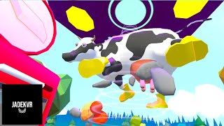 COW MILKING IN VIRTUAL REALITY!! (HTC Vive Gameplay)