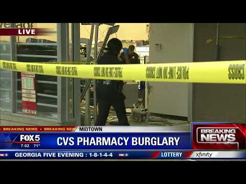 CVS Pharmacy Burglary