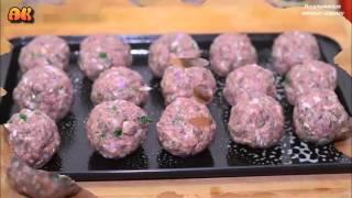 Итальянские мясные шарики. Видео рецепт