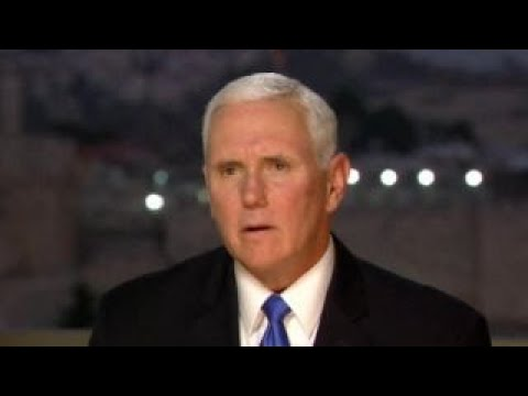 Pence discusses the United States