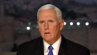 Pence discusses the United States' stance on Iran