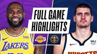 GAME RECAP: Nuggets 122, Lakers 105