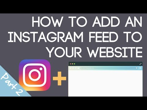 Add An Instagram Feed to Blogger & Tumblr