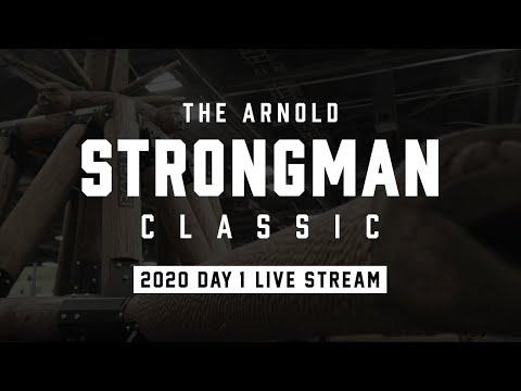 Full Live Stream | Arnold Strongman Classic 2020 - Day 1