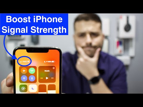 How To Boost IPhone Signal (Service)!