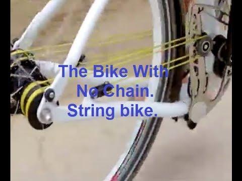 6c429e89948 The Bike With No Chain. String bike. - YouTube