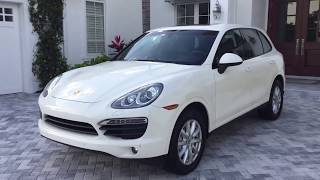 2011 Porsche Cayenne S Review and Test Drive by Bill Auto Europa Naples