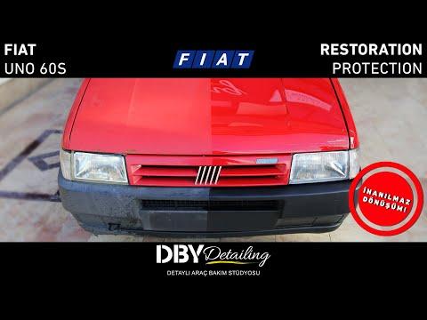 Hayata Dönüş! | 1993 Fiat Uno 60s Zımpara Ile Boya Düzeltme | Gordion AVM Tanıtım Standı
