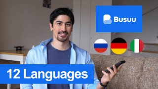 Learn 12 Languages on Busuu! Learning App Review (2020) - BigBong screenshot 3