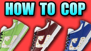 How To Get Tнe SUPREME DUNK Lows | How To Cop SUPREME