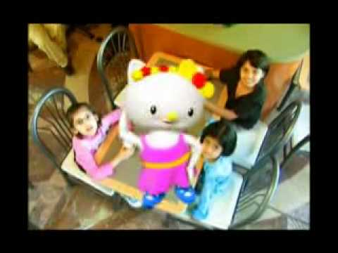 Mcdonalds Commercial Pakistan (Hello Kitty Basketball) Awful Mexican Singing